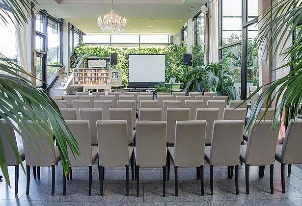 Veranstaltung im Restaurant Urwaldblick in der Biosphäre Potsdam