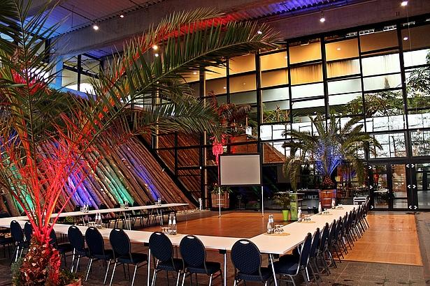 Orangerie Eventhalle Biosphäre Potsdam