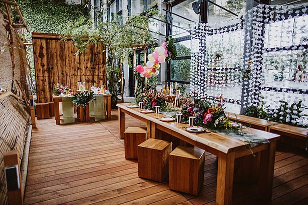 Bridal Shower im Dschungelzimmer der Biosphäre Potsdam