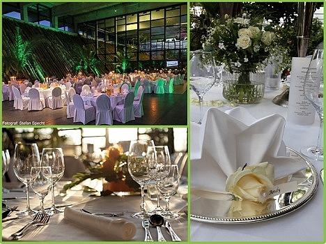 Hochzeitsfeier in der Eventhalle