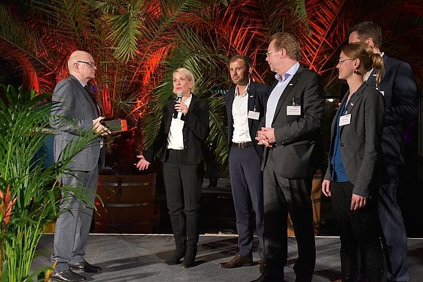 Awardverleihung in der Biosphäre Potsdam