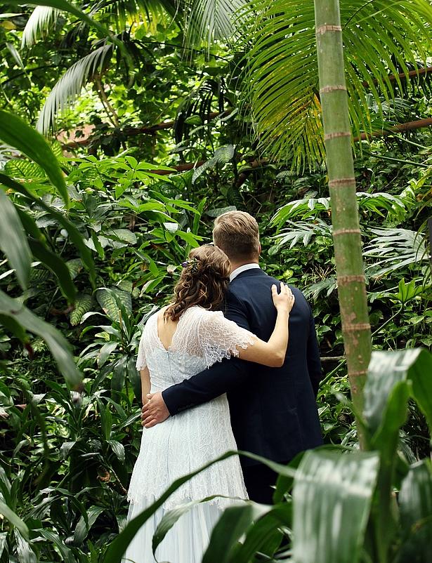 Hochzeit Trauung in der Biosphäre Potsdam