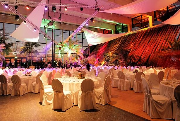 Biosphäre Potsdam Hochzeitslocation