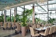 Innenbereich Restaurant Urwaldblick Biosphäre Potsdam